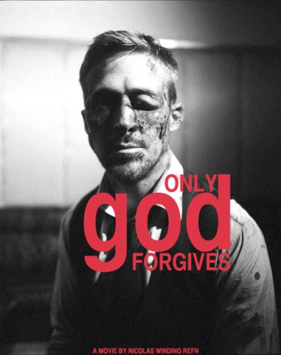Ryan Gosling & Nicolas Winding on set of Only God Forgives