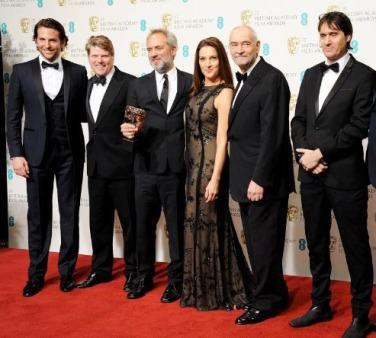 Alguns dels invitats. Entre ells, Sam Mendes, guanyador del millor film britànic, SKYFALL.