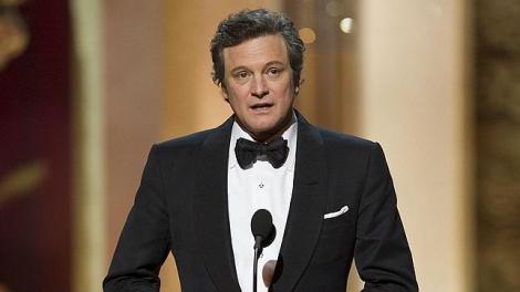 Firth el dia que va guanyar l'Oscar per EL DISCURS DEL REI