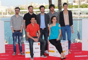 L'equip de la pel·lícula STOCKHOLM, una de les més premiades en aquesta edició del festival.