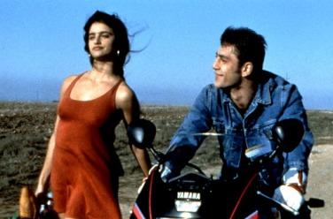 Javier Bardem havia de seduir Penélope Cruz a JAMÓN JAMÓN, on compartien escenes molt pujades de to.
