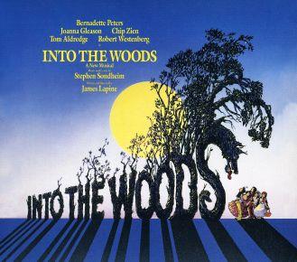 Cartell original de la producció de Broadway de INTO THE WOODS.