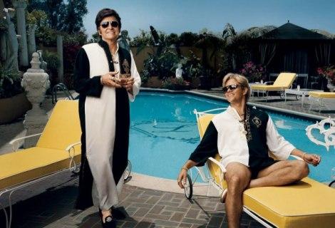 La parella de la ficció retratada a Vanity Fair.