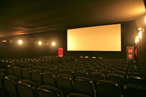 Una de les 4 sales dels cinemes Boliche, completament reformada.