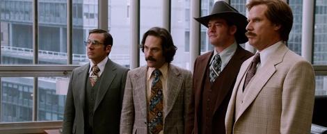 Brick, Brian, Champ i Ron preparats per tornar a regnar.