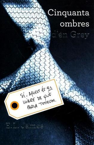 La portada del primer llibre de la trilogia de Grey.