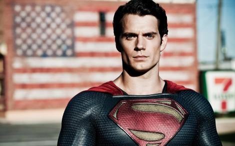 El nou Superman: barres i estrelles i Seven Eleven.