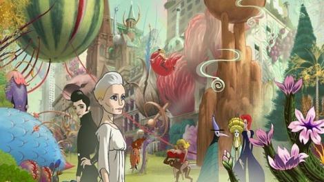 Fotograma d'animació de THE CONGRESS.