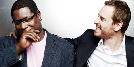 McQueen (esquerra) i Fassbender, friends forever.
