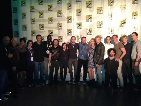L'ampli repartiment de la nova d'X-Men, reunits un cop acavat el panel