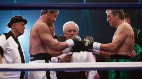 De Niro i Stallone lluitant. Serà la segona vegada que treballen junts després de la magnifica i infravalorada COP LAND.