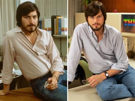 La semblança entre el jove Jobs i Kutcher és més que evident.