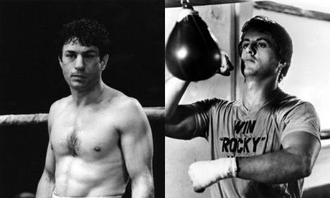 Sens dubte, els dos boxejadors més mítics del cinema.