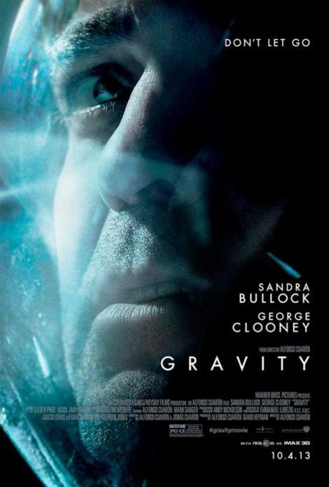 Poster centrat en Clooney.