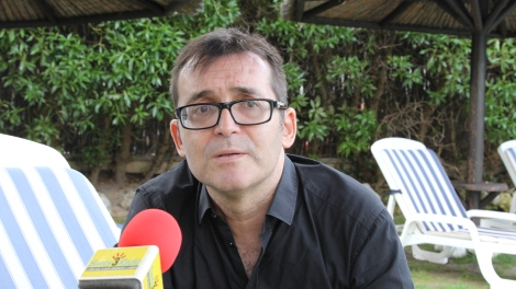 Ángel Sala, en un moment de la nostra entrevista.