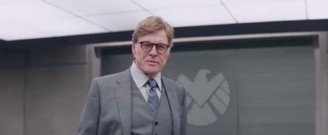 Robert Redford com a jefazo de S.H.I.E.L.D fa la seva entrada al món dels superherois.