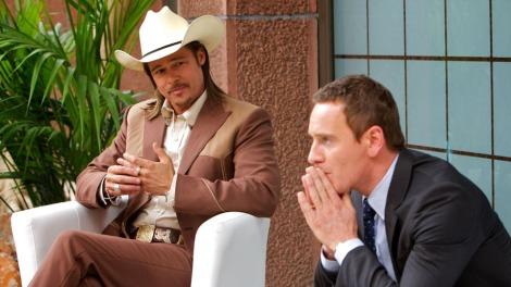 Cada cop que apareix Brad Pitt a escena, el nivell de la pel·lícula augmenta.