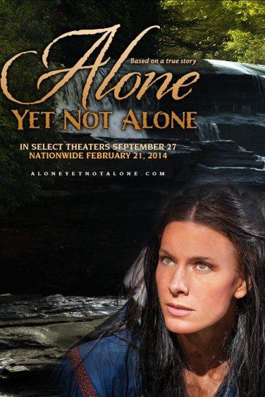 Aquest és un dels pósters de ALONE YET NOT ALONE. Moltes ganes de veure-la, eh?