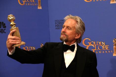 Douglas, amb el seu recent Globus D'Or per BEHIND THE CANDELABRA, dona un nou tomb a la seva carrera.