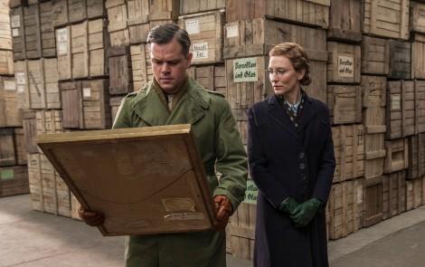 Matt Damon i Cate Blanchett en un fotograma de la pel·lícula