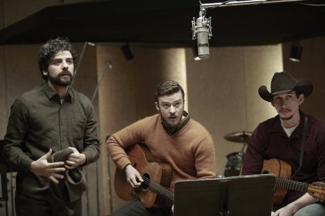 """Esperem que Oscar Isaac (esquerra) i Adam Driver (dreta) cantin """"Please Mr. Kennedy"""" a una galàxia llunyana. Trobarem a faltar a Justin Timerlake, això sí."""