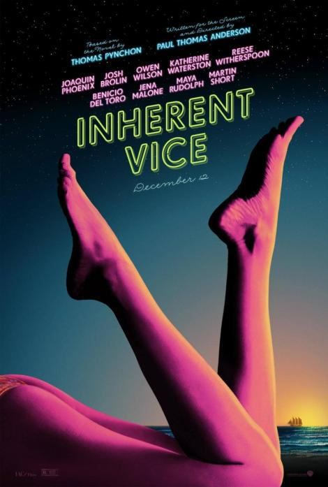 Exhuberant nou poster per INHERENT VICE.