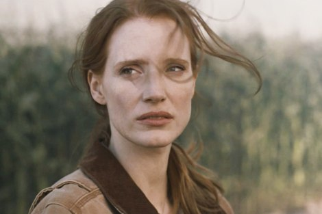 Jessic Chastain, en un moment clau de INTERSTELLAR.